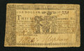 Colonial Notes:Maryland, Maryland April 10, 1774 $1 Very Good-Fine.. ...