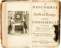 Books:Medicine, John Gauden, attrib. [or possibly: Jeremy Taylor, Obadiah Walker,or John Gaule.] A Discourse Of Artificial Beauty, In p...