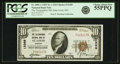 National Bank Notes:Missouri, Saint Louis, MO - $10 1929 Ty. 1 The Telegraphers NB Ch. # 12389PCGS Choice About New 55PPQ.. ...