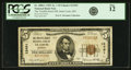 National Bank Notes:Missouri, Saint Louis, MO - $5 1929 Ty. 1 The Twelfth Street NB Ch. # 12491 PCGS Fine 12.. ...