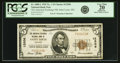 National Bank Notes:Missouri, Saint Louis, MO - $5 1929 Ty. 1 The American Exchange NB Ch. #12506 PCGS Very Fine 20 Apparent.. ...