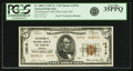 National Bank Notes:Missouri, Saint Louis, MO - $5 1929 Ty. 2 The Boatmen's NB Ch. # 12916 PCGSVery Fine 35PPQ.. ...