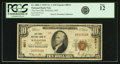 National Bank Notes:Missouri, Wellston, MO - $10 1929 Ty. 1 The First NB Ch. # 8011 PCGS Fine12.. ...