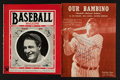 Baseball Collectibles:Others, All-Time Greats Baseball Collectibles Group of 16 With Gehrig, Cobband Ruth....
