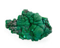 Minerals:Cabinet Specimens, Malachite. Morenci, Copper Mountain District. ShannonMts, Greenlee Co.. Arizona, USA. 4.76 x 3.18 x 1.84inch...