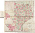 Miscellaneous:Maps, [Map]. Charles W. Pressler. Traveller's Map of the State ofTexas....
