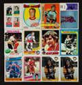 Hockey Cards:Lots, 1950's - 1980's Hockey Stars and HoFers Card Collection (33) WithOrr, Howe and Lemieux! ...