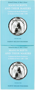 Books:Books about Books, [Books about Books.] Richard H. Rouse & Mary A. Rouse.Manuscripts and Their Makers: Commercial Book Producers inMediev... (Total: 2 Items)