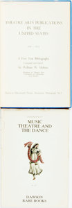 Books:Reference & Bibliography, [Theatre and Music.] William W. Melnitz, editor. Theatre ArtsPublications in the United States, 1947 - 1952: A Five Yea...(Total: 2 Items)