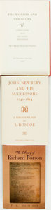 Books:Reference & Bibliography, [Bibliography.] Group of Three Bibliographies. Various publishersand dates.... (Total: 3 Items)