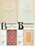 Books:Books about Books, [Maggs Brothers Ltd.] Bookbinding in the British Isles, 16th to 20th century... In Two Parts. London: Maggs Bros. Lt... (Total: 4 Items)