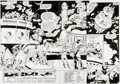 Original Comic Art:Splash Pages, Chuck Wojtkiewicz and Will Blyberg Justice League America#113 Page 2-3 Double Splash Page Original Art (DC, 1996)...