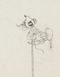 Animation Art:Production Drawing, Alpine Climbers Mickey Mouse Production Drawing AnimationArt (Walt Disney, 1936)....