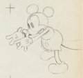 Animation Art:Production Drawing, Mickey's Nightmare Mickey Mouse Drawing Animation Art (WaltDisney, 1931)....