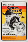 "Movie Posters:Sexploitation, Cherry, Harry & Raquel (Eve Productions, 1970). One Sheet (27""X 41""). Sexploitation.. ..."