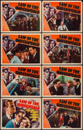 "Movie Posters:Crime, Law of the Underworld (RKO, 1938). Lobby Card Set of 8 (11"" X 14"").Crime.. ... (Total: 8 Items)"