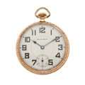 Timepieces:Pocket (post 1900), South Bend 21 Jewel Open Face Pocket Watch. ...