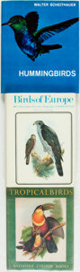 Books:Natural History Books & Prints, [Birds]. Group of Three Books on Birds. Various publisher's and dates. ... (Total: 3 Items)