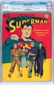 Superman #29 (DC, 1944) CGC FN+ 6.5 Light tan to off-white pages
