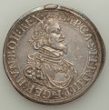 German States:Augsburg, German States: Augsburg. Free City Taler 1639 VF/XF Mounted,...