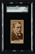 "Non-Sport Cards:Singles (Pre-1950), 1887 N171 Old Judge ""Earl of Rosebery"" SGC 80 EX/NM 6 - The OnlyGraded Example. ..."