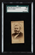 Non-Sport Cards:Singles (Pre-1950), 1887 N370 Lone Jack Ulysses S. Grant SGC 50 VG/EX 4 - One of OnlyTwo SGC Examples. ...
