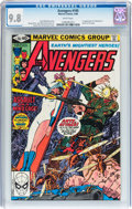 Modern Age (1980-Present):Superhero, The Avengers #195 (Marvel, 1980) CGC NM/MT 9.8 White pages....