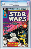 Modern Age (1980-Present):Science Fiction, Star Wars #34 (Marvel, 1980) CGC NM/MT 9.8 White pages....