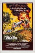 "Movie Posters:Sports, Checkered Flag or Crash (Universal, 1977). One Sheet (27"" X 41"") & Uncut Pressbook (14 Pages, 8.5"" X 11""). Sports.. ... (Total: 2 Items)"