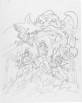 Animation Art:Production Drawing, Pirates of Darkwater Publicity Animation Drawing(Hanna-Barbera, 1991)....