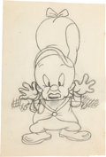 Animation Art:Production Drawing, The Big Snooze Elmer Fudd Animation Drawing (WarnerBrothers, 1946)....