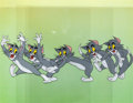 Animation Art:Production Cel, The Brothers Carry-Mouse-Off Tom Cat Production Cels (MGM,1965).... (Total: 5 Original Art)
