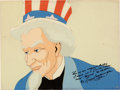 Animation Art:Production Cel, Old Glory Uncle Sam Production Cel (Warner Brothers,1939)....