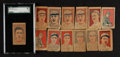 Baseball Cards:Sets, 1928 W512 Anonymous Baseball Players Near Set (8/10) With Variations and Extras. ...