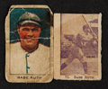 Baseball Cards:Lots, 1920's W511 and W519 Babe Ruth Pair (2). ...