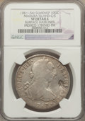 Netherlands East Indies, Netherlands East Indies: Madura Island. Sumenep Counterstampedsilver Ducaton ND (1811-54) VF Details (Surface Hairlines) NGC,...