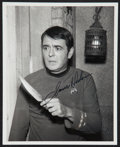 """Movie Posters:Science Fiction, James Doohan as Scotty in Star Trek (1970s). Autographed ConventionPhoto (8"""" X 10""""). Science Fiction.. ..."""