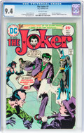 Bronze Age (1970-1979):Superhero, The Joker #1 (DC, 1975) CGC NM 9.4 Off-white pages....