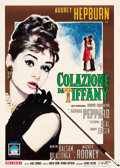 "Movie Posters:Romance, Breakfast at Tiffany's (Paramount, 1962). Italian 2 - Foglio (39"" X54.5"").. ..."