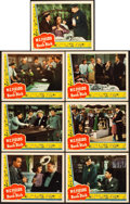 "Movie Posters:Comedy, The Bank Dick (Universal, 1940). Lobby Cards (7) (11"" X 14"").. ...(Total: 7 Items)"
