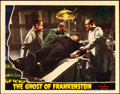 "Movie Posters:Horror, The Ghost of Frankenstein (Universal, 1942). Lobby Card (11"" X 14"").. ..."
