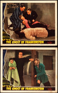 "Movie Posters:Horror, The Ghost of Frankenstein (Universal, 1942). Lobby Cards (2) (11"" X 14"").. ... (Total: 2 Items)"