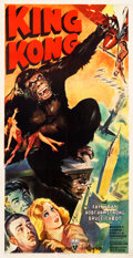 "Movie Posters:Horror, King Kong (RKO, R-1942). Three Sheet (41.5"" X 80"").. ..."