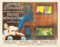 "Movie Posters:Hitchcock, Rear Window (Paramount, 1954). Autographed Half Sheet (21.75"" X28"") Style A.. ..."