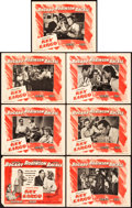 """Movie Posters:Film Noir, Key Largo (Warner Brothers, 1948). Title Lobby Card and Lobby Cards(6) (11"""" X 14"""").. ... (Total: 7 Items)"""