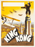 "Movie Posters:Horror, King Kong (RKO, 1933). French Poster (11.75"" X 15.5""). Horror.. ..."