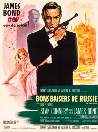 "From Russia with Love (United Artists, 1964). French Grande (46"" X 62"")"