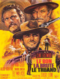 "Movie Posters:Western, The Good, the Bad and the Ugly (United Artists, 1968). Full-BleedFrench Grande (46"" X 61"").. ..."