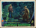 "Movie Posters:Horror, Dracula's Daughter (Universal, 1936). Lobby Card (11"" X 14"").. ..."