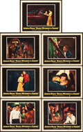 "Movie Posters:Drama, Rebel without a Cause (Warner Brothers, 1955). Lobby Cards (7) (11""X 14"").. ... (Total: 7 Items)"